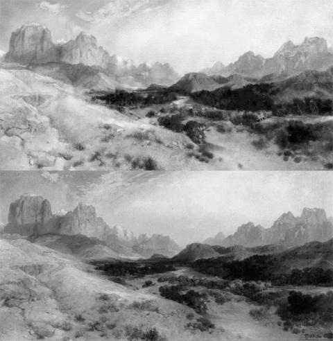 Mastercopy | Zion Valley, Utah - Thomas Moran