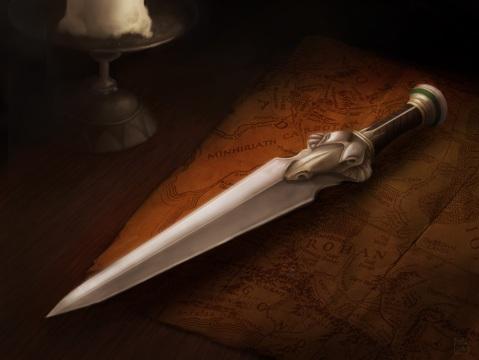 Rohirrim Dagger (In Environment)| 2012