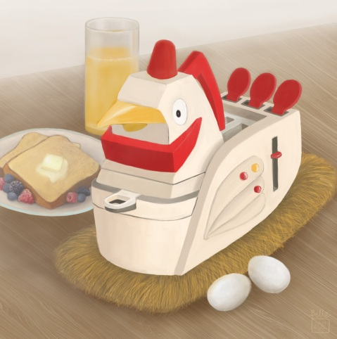 A Hen-dy Breakfast Buddy (In Environment) | 2012