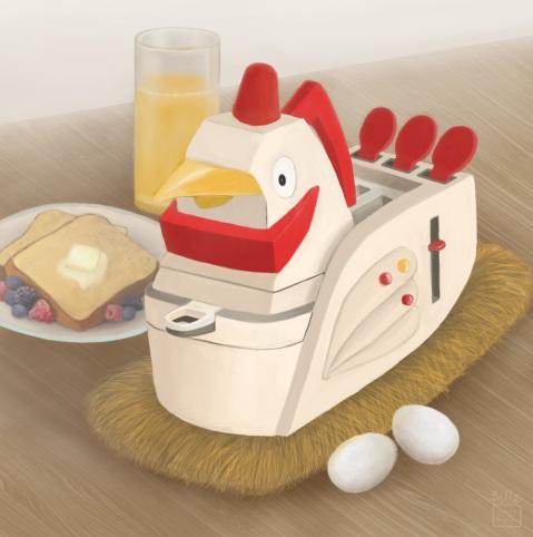 A Hen-dy Breakfast Buddy (In Environment) | 2012