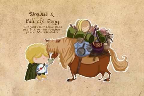 Samwise & Bill the Pony |2013