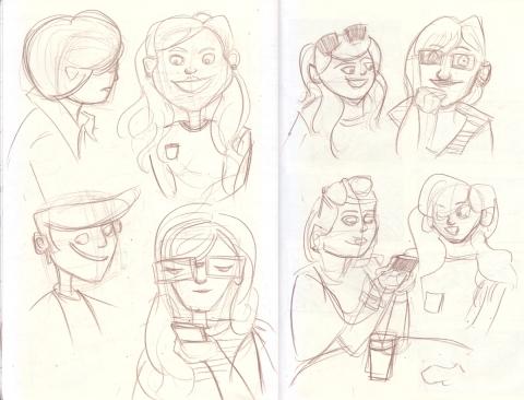 Coffee Sketch 1