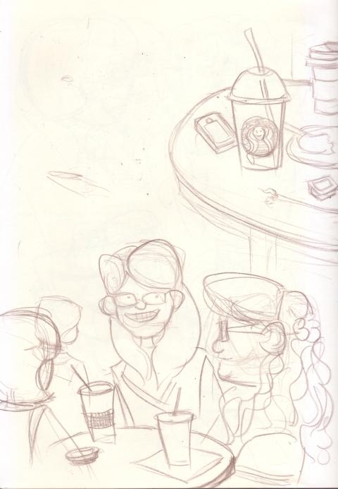 Coffee Sketch 3