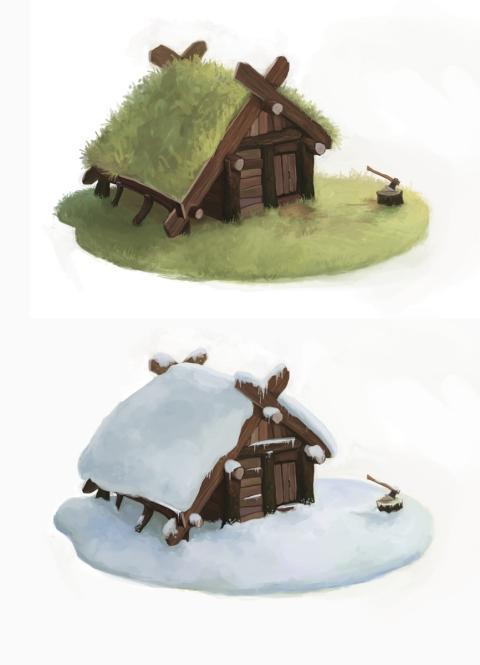 Woodcutter's Hut