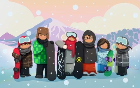 Snowboarding @ XJAM, Nagano